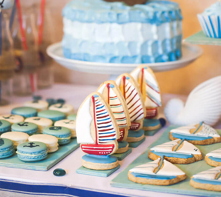 Baby Shower Themes - Ahoy There Little Sailor!