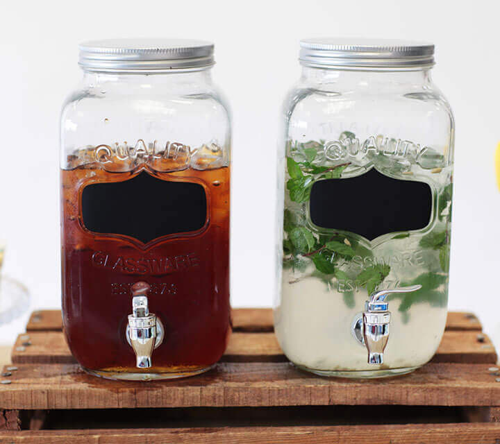 Baby Shower Decorations - Classic Beverage Dispensers