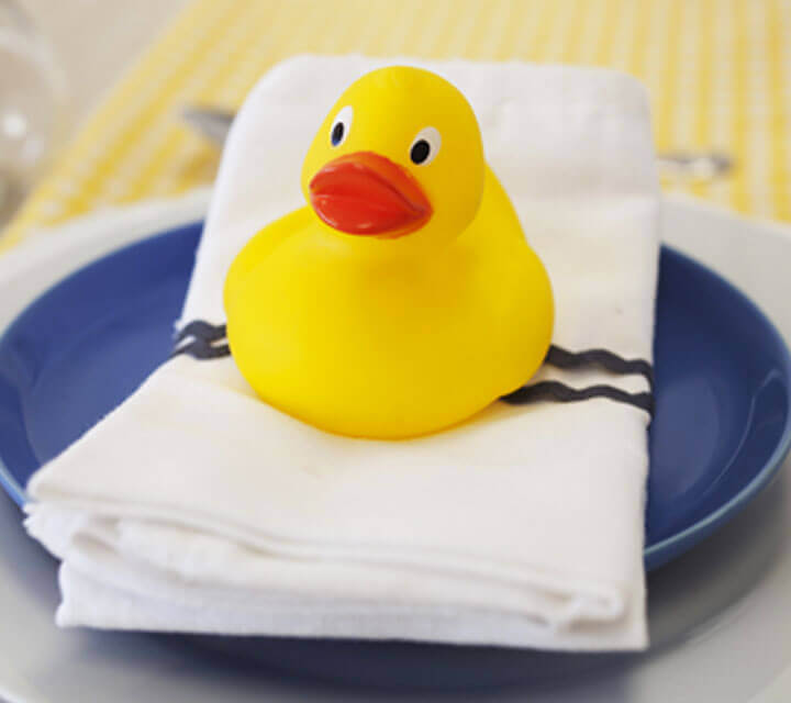 Baby Shower Themes - Ducks in a Row