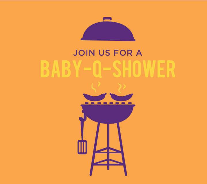 Baby-Q Invitations