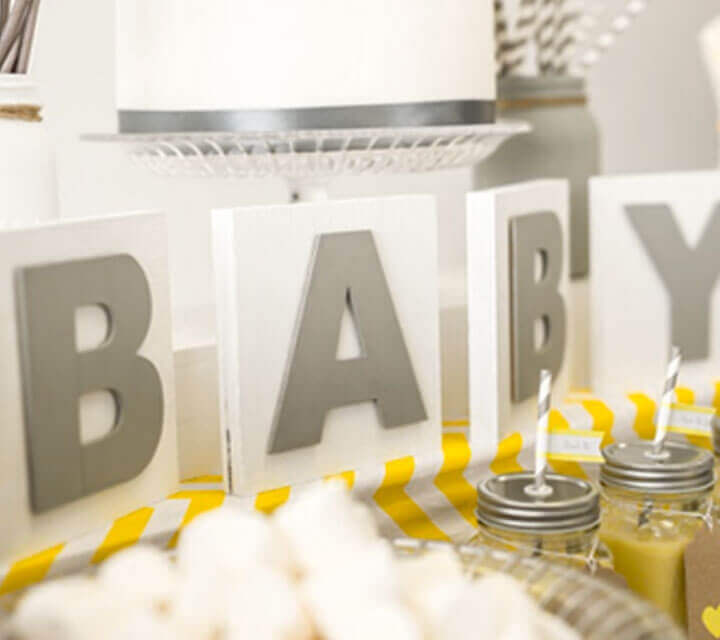 Baby Shower Themes - Play it Neutral