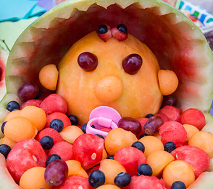 Baby Shower Decorations - Fruit bub fun